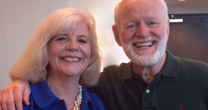 Olwyn Merritt and Marshall Goldsmith