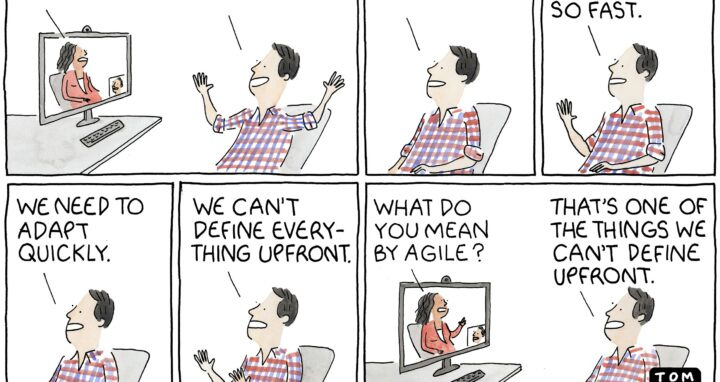 Agile from the Marketoonist
